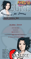 Sasuke Journal Skin by JeffrettaLyn