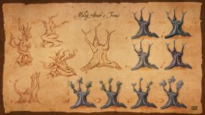 Molag Amur - trees by lukkar
