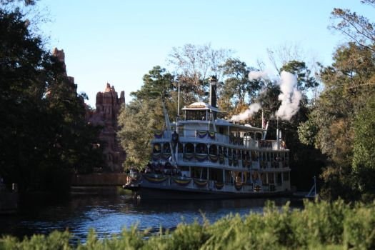 Magic Kingdom: Ferry I by KW-stock