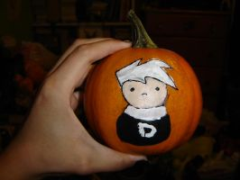 Danny Phantom Pumpkin by lunaverse