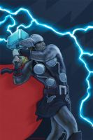 thor...comic book by strib
