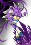 Nat-Su the Echidna by SephoraInSpace