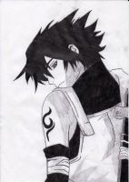 Anbu Sasuke by BinaryDeath