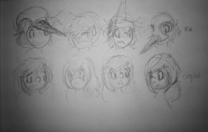 Expressions by RedAndWhiteToadstool