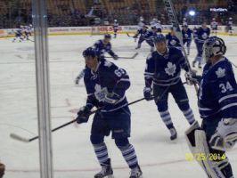 leafs warmup by Musicislove12