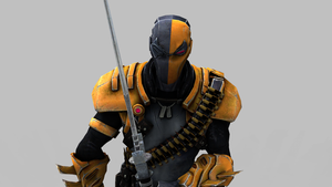 DeathStroke - Keyshot 3 by Postmortacum