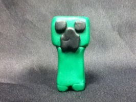 Clay Minecraft Creeper by SuperYoshiCookie