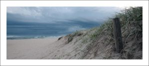 Storm beyond the dunes by Cameron-Jung