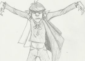 Murdoc Niccals - sketch by King-Candy