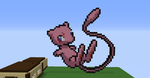 Mew Pixel Art by eewq