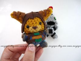 Ratchet Amigurumi by AnyaZoe