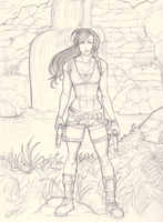 Tomb Raider by Holly-the-Laing