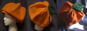 Pumpkin Hat by Darkauthor81