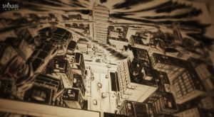 TMNT_City Fall_sneak peek by Santolouco