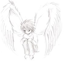 L with wings by MurasakiButterfly