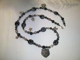Sacred Forest Necklace -SOLD- by DaybreaksDawn
