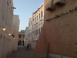 Doha Soy Alley by Arcturion