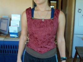 Front of Elizabethan Bodice by TimelordWitch10