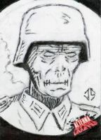 Alterna Originals Sketch Cards: Fubar by JasonShoemaker