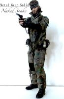 Metal Gear Solid - Naked Snake 1/6 Custom Figure by SomethingGerman