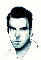Zachary Quinto | Oliver Thredson by DilettaStrangee