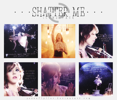 Shatter Me | Icons Pack by JessxFlyller