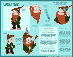 Dwarf Ref Sheet - Whistler by Genolover