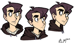 Anthony Sketches by Ric-M