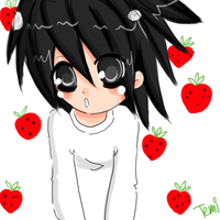 L Strawberries x3 by Temima