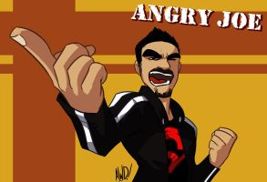 TGWTG Toonize - Angry Joe by AndrewDickman