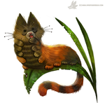 Daily Painting #971. Caterpillar (OG) by Cryptid-Creations