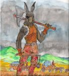 Warrior Wabbit by YogibogiBox