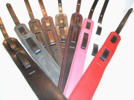 Guitar straps by GriffinLeather