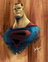 Kingdom Come Superman by skyknightnd