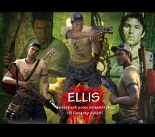Left 4 dead 2 Ellis desktop by SlaveRain