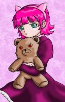 LoL - Annie Hugs Tibbers by hiryurhys