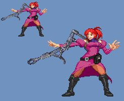 Sprite Work: Countess Kimberly Paler (Earth-56) by SXGodzilla