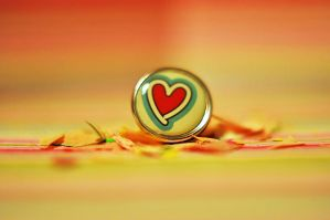 Heart Button by teresastreasures72
