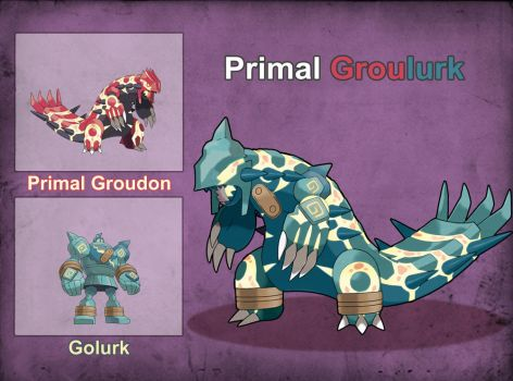Poke Fusion - Primal Groulurk by PokeFusionMan