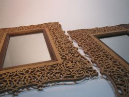 Fretwork Mirrors by DMSscroller