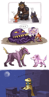 FFVI dog bonus by emlan