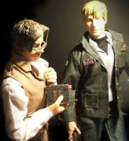 Silent Hill Vincent and James. by Mechanic-Star