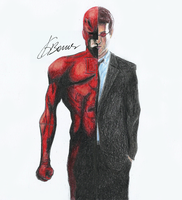 Two Sides Of Matt Murdock by KarolBarros
