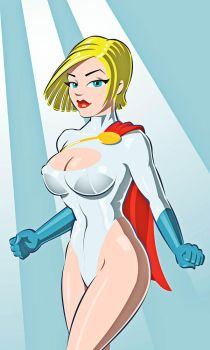 powerGirl small by shed2602