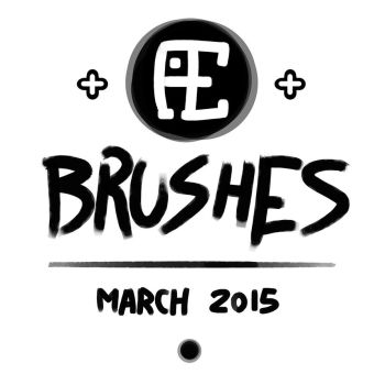 Brushes - March 2015 by Kufaz