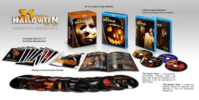 31 Years of Halloween - Custom Box Set 3D Preview by themadbutcher