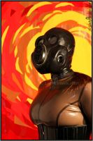 Gallery 67 'Gasmask Galore' 4 by LadyArrakis