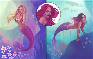Mermaids! by svyre