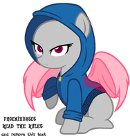 MLP Base: Hoodie pony by BitchBases