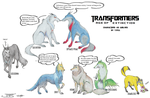 Transformers AoE Wolves by Chortura